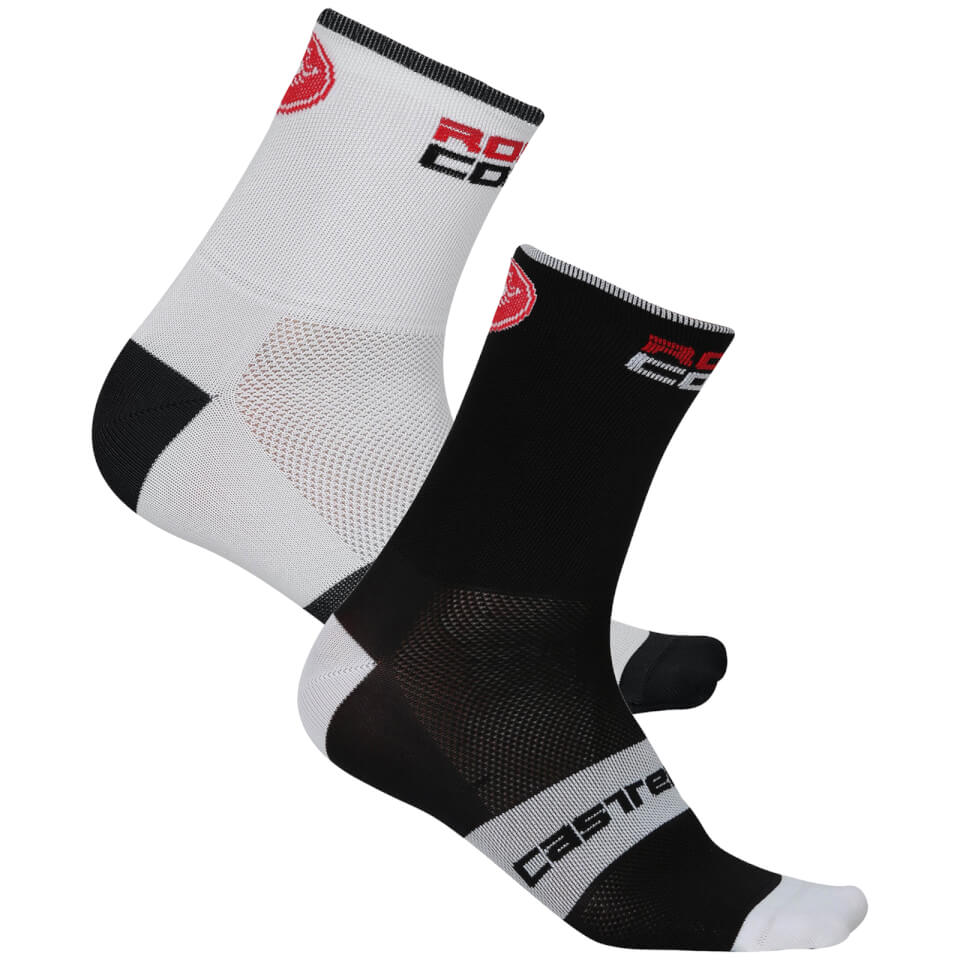 Castelli Rossocorsa 13 Strømper, anthracite/red   Socks