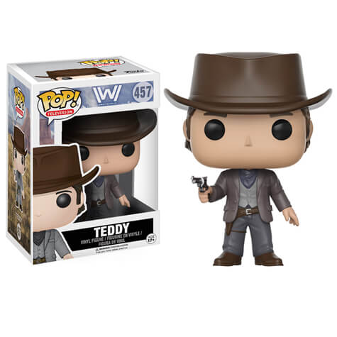 Westworld Teddy Pop Vinyl Figure Merchandise Zavvi