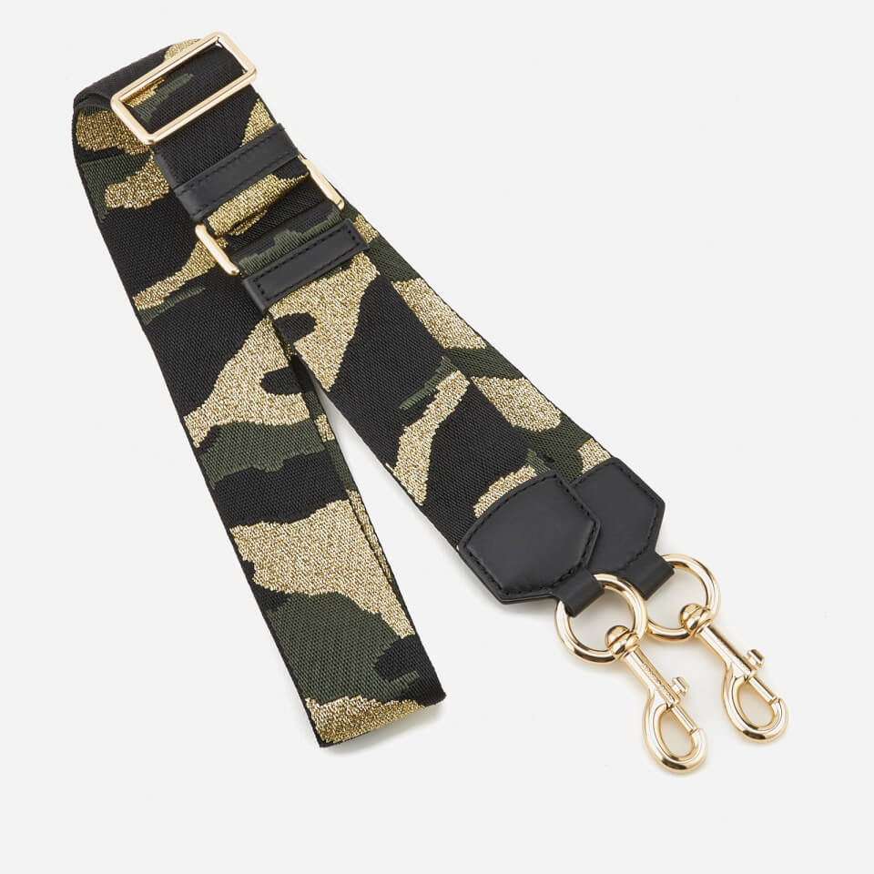Marc Jacobs Women s Camo Webbing Bag Strap - Black Multi Womens Accessories   eae31bf67