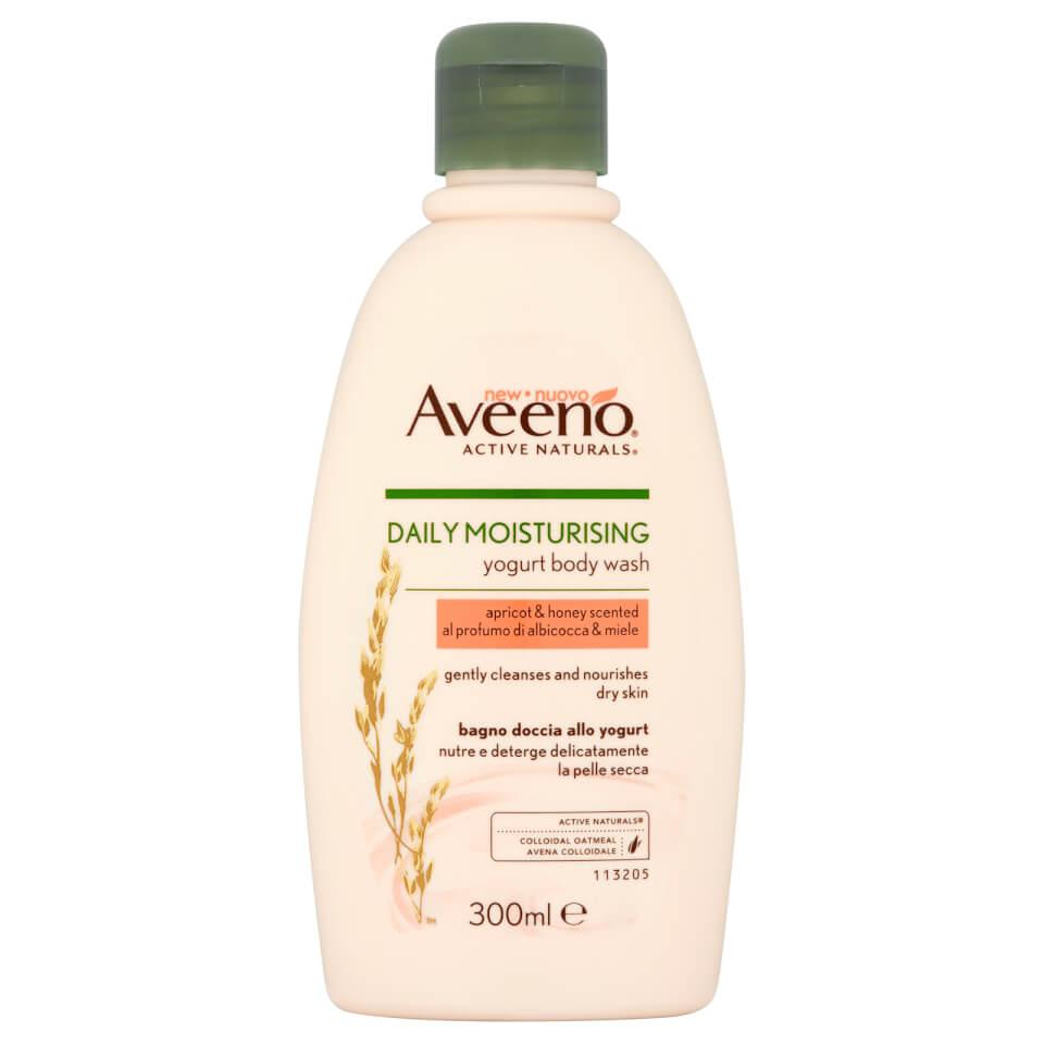 Aveeno Daily Moisturising Body Wash - Apricot and Honey 300ml