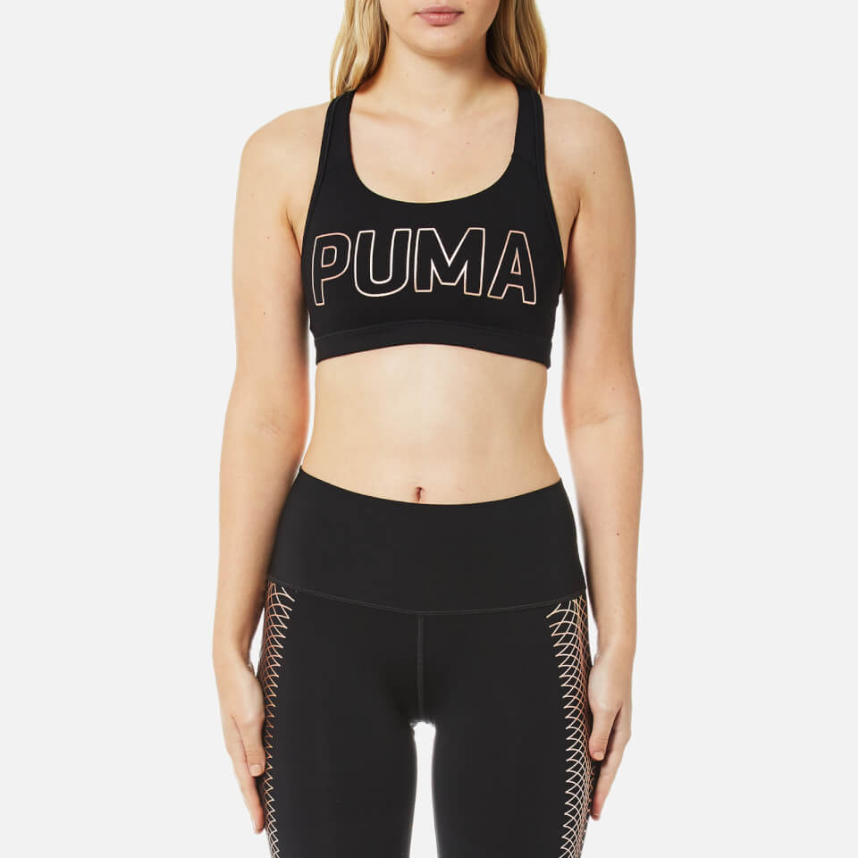 Puma Women S Powershape Forever Logo Sports Bra Puma