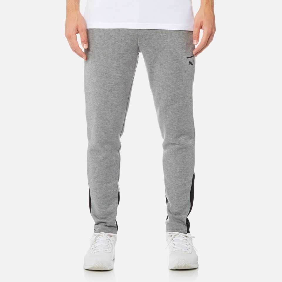 483b68f8c1ce Puma Men s Evo Core Sweatpants - Medium Grey Heather Clothing ...