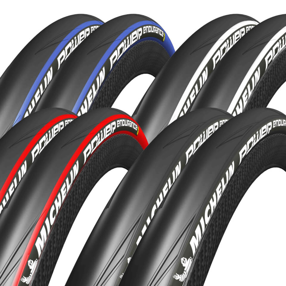 michelin power endurance clincher tyre twin pack. Black Bedroom Furniture Sets. Home Design Ideas