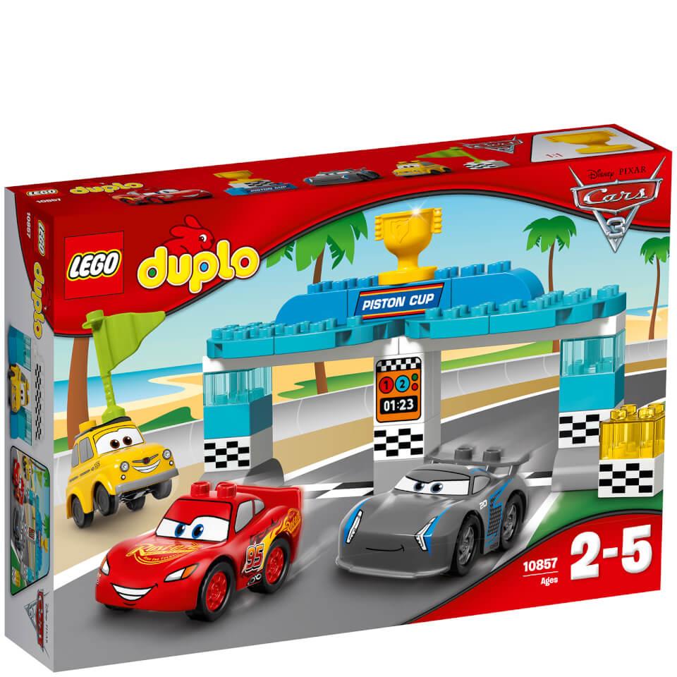 Lego Toy 3 : Lego duplo cars piston race cup toys thehut