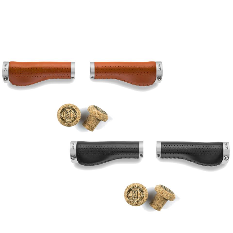 Sella Italia Epica Leather Handlebar Grips | Håndtag