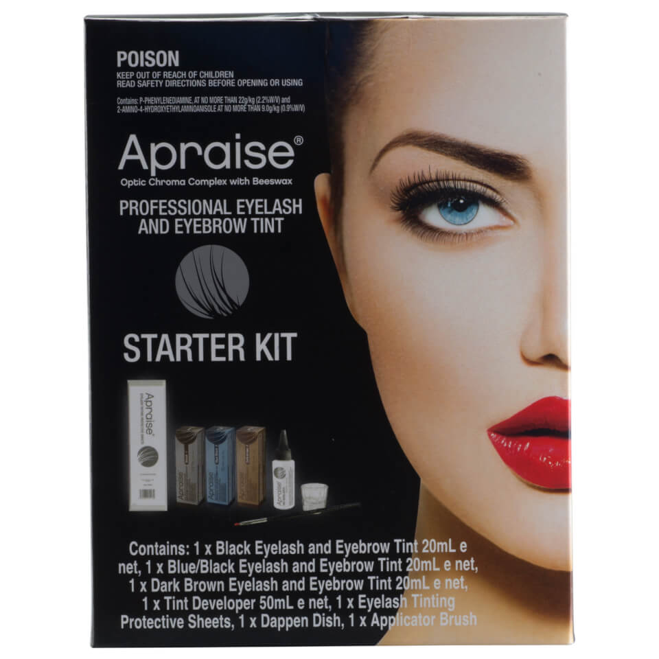 Apraise Professional Eyelash And Eyebrow Tint Starter Kit Buy