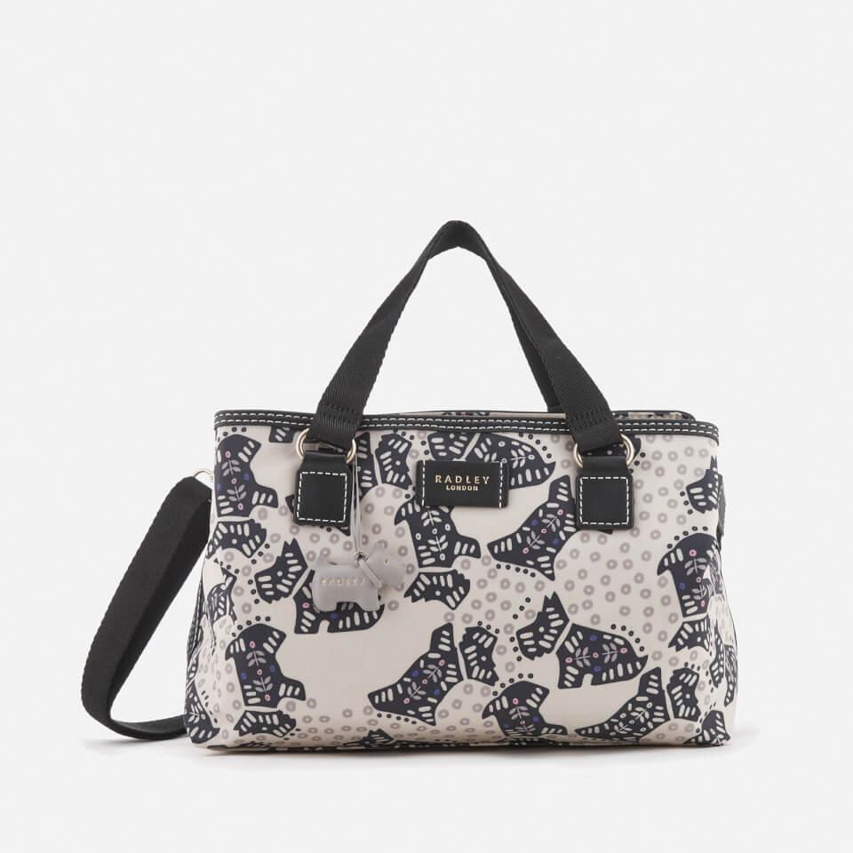 Radley Womens Folk Dog Medium Multiway Bag Chalk