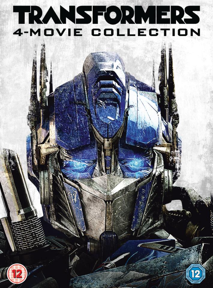 Transformers 1 4 Boxset Dvd Zavvi
