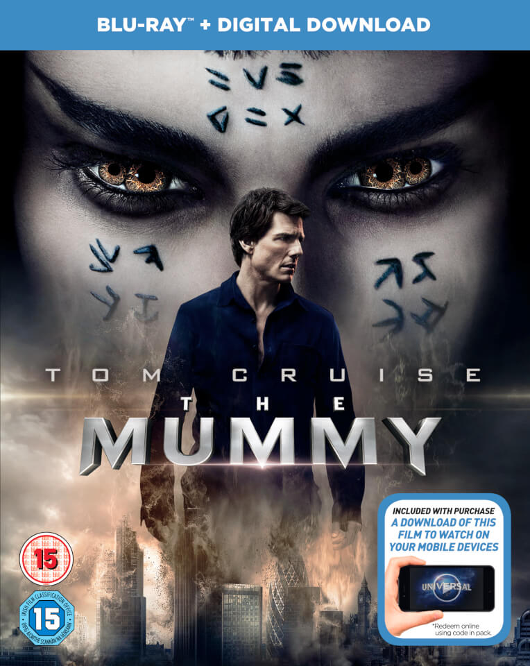 the mummy 2017 digital download blu ray zavvi. Black Bedroom Furniture Sets. Home Design Ideas