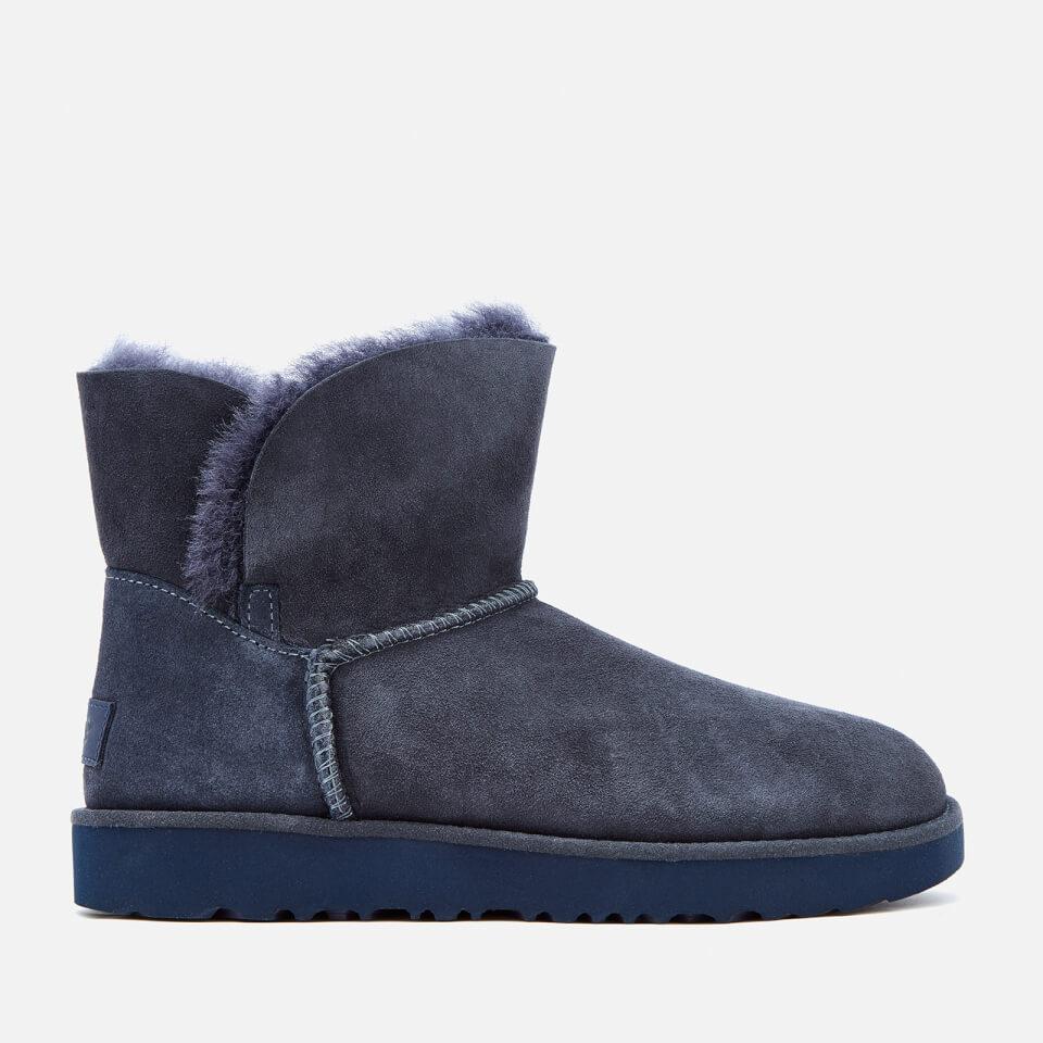 ugg women 39 s classic cuff mini sheepskin boots imperial damenschuhe. Black Bedroom Furniture Sets. Home Design Ideas