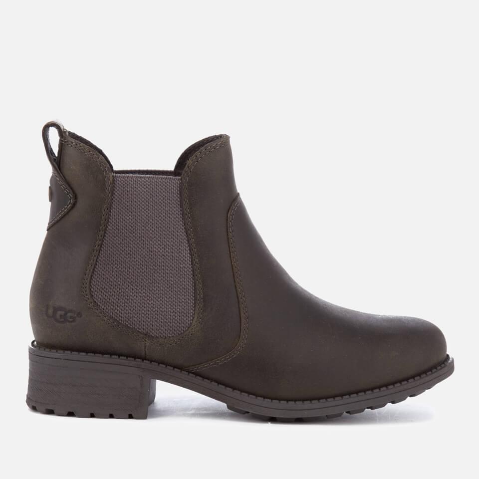 Ugg Women S Bonham Leather Chelsea Boots Grey Free Uk