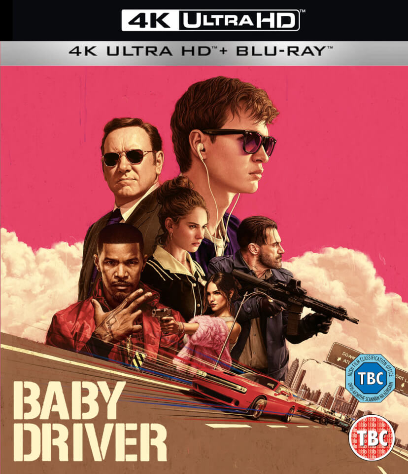 baby driver 4k ultra hd blu ray. Black Bedroom Furniture Sets. Home Design Ideas