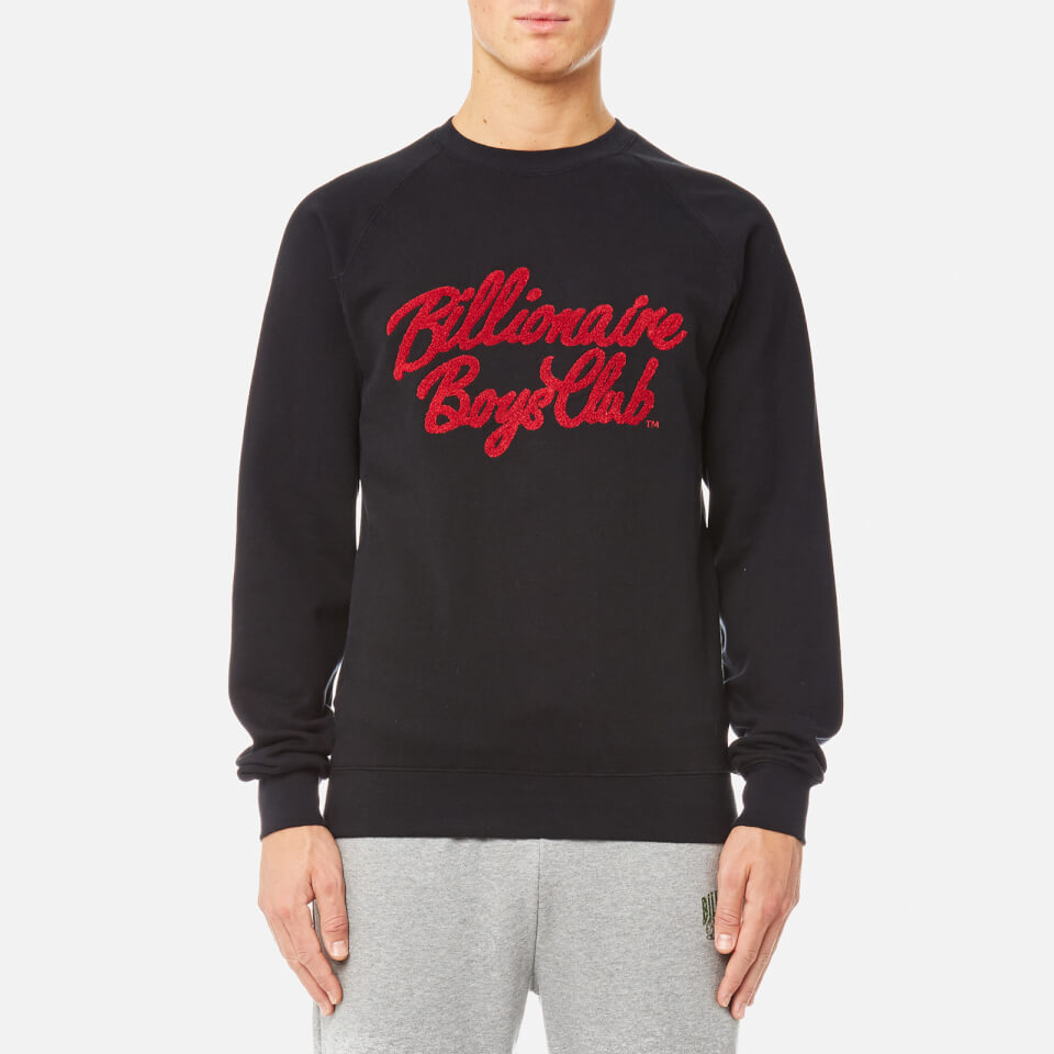 Billionaire Boys Club Men's Chenille Script Crew Neck