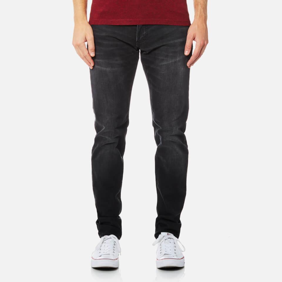 e909fad8f53 Superdry Men s Jogger Jeans - Dusty Black Mens Clothing