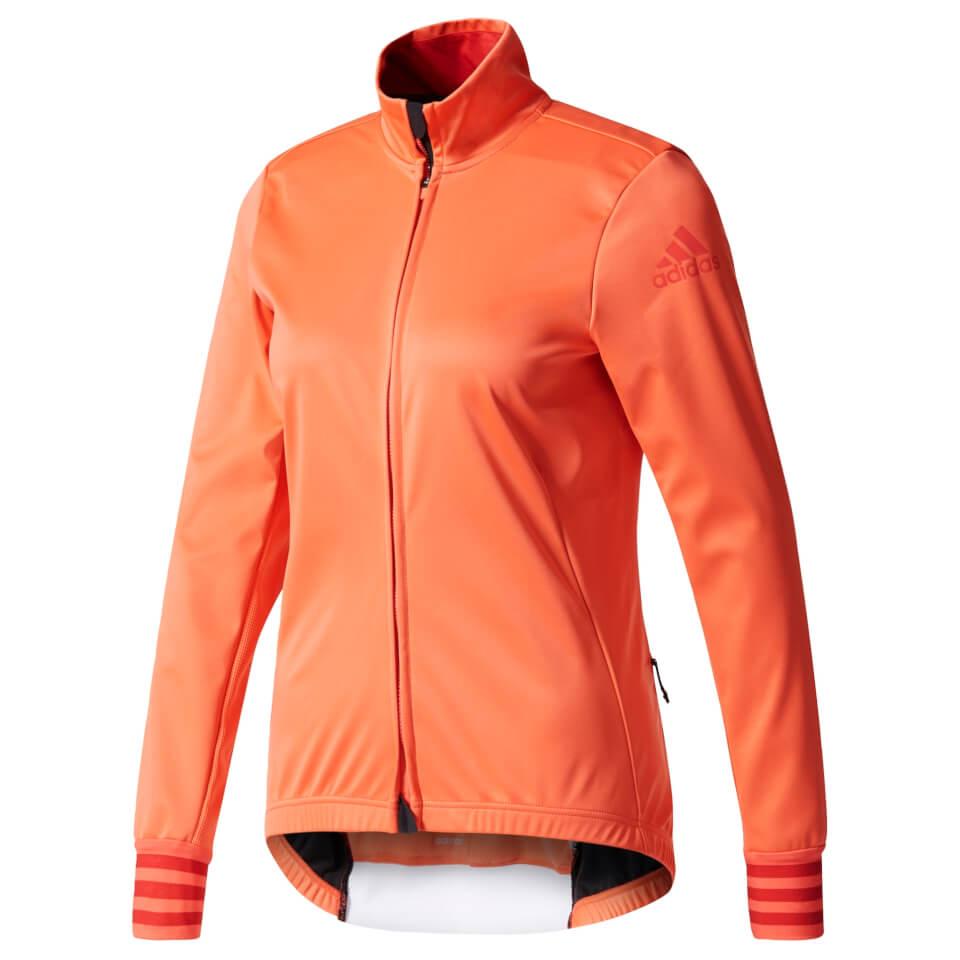 adidas Women's Adistar Long Sleeve Winter Jersey - Coral | Jerseys