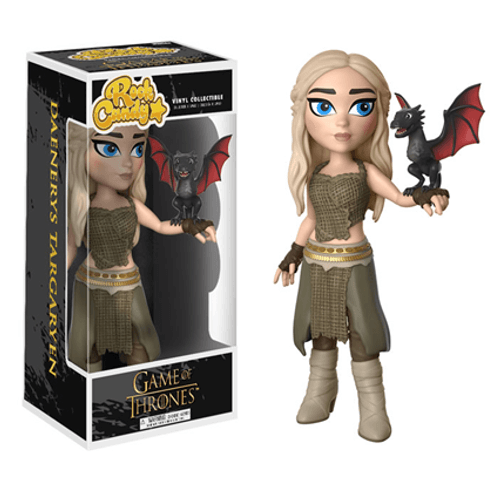 Game of Thrones-Daenerys dans blanc manteau Funko POP Personnage