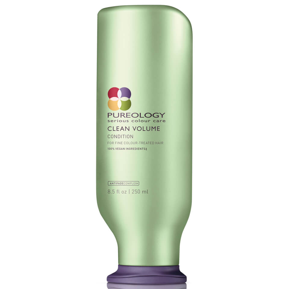 Pureology Clean Volume Colour Care Conditioner 250ml   Free Shipping ...