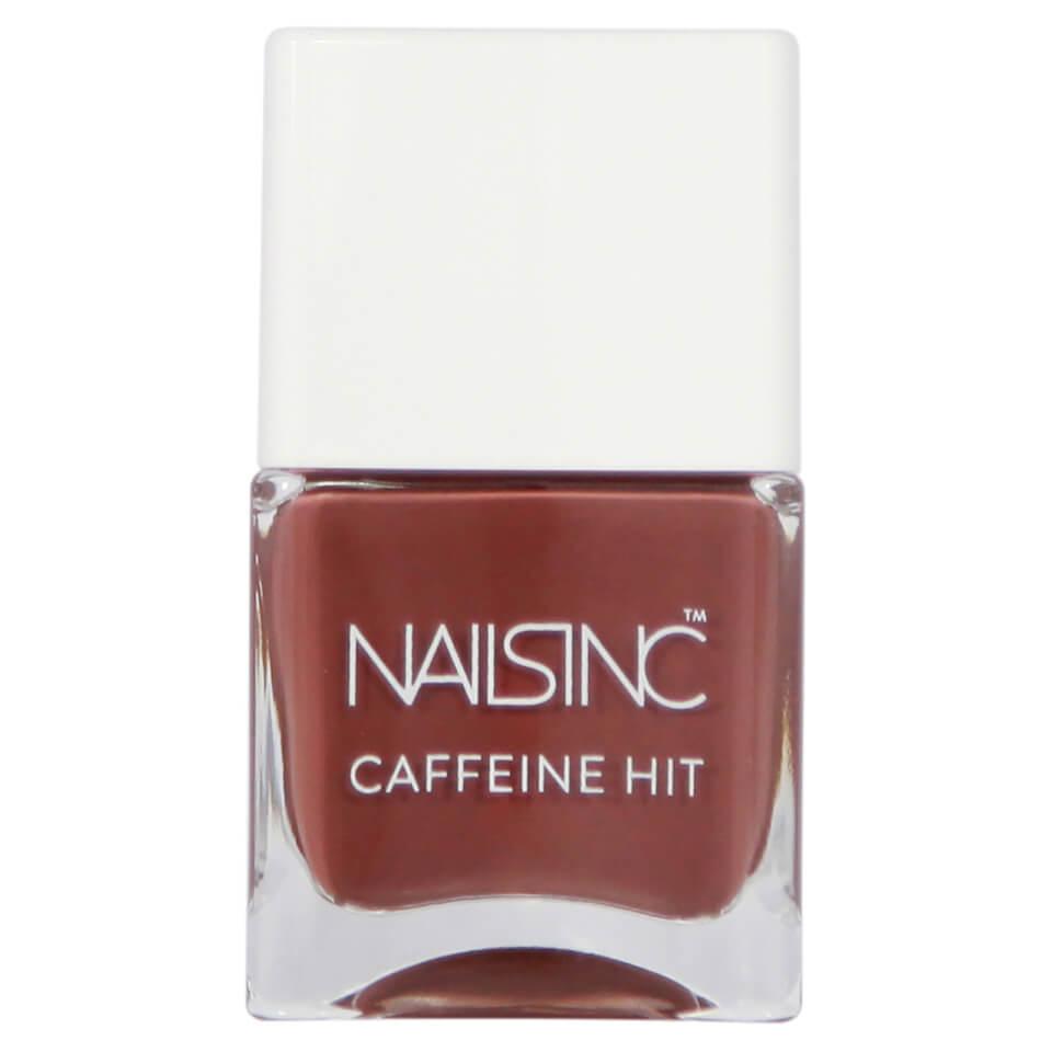 nails inc. Afternoon Mocha Caffeine Hit Nail Varnish 14ml | Free ...