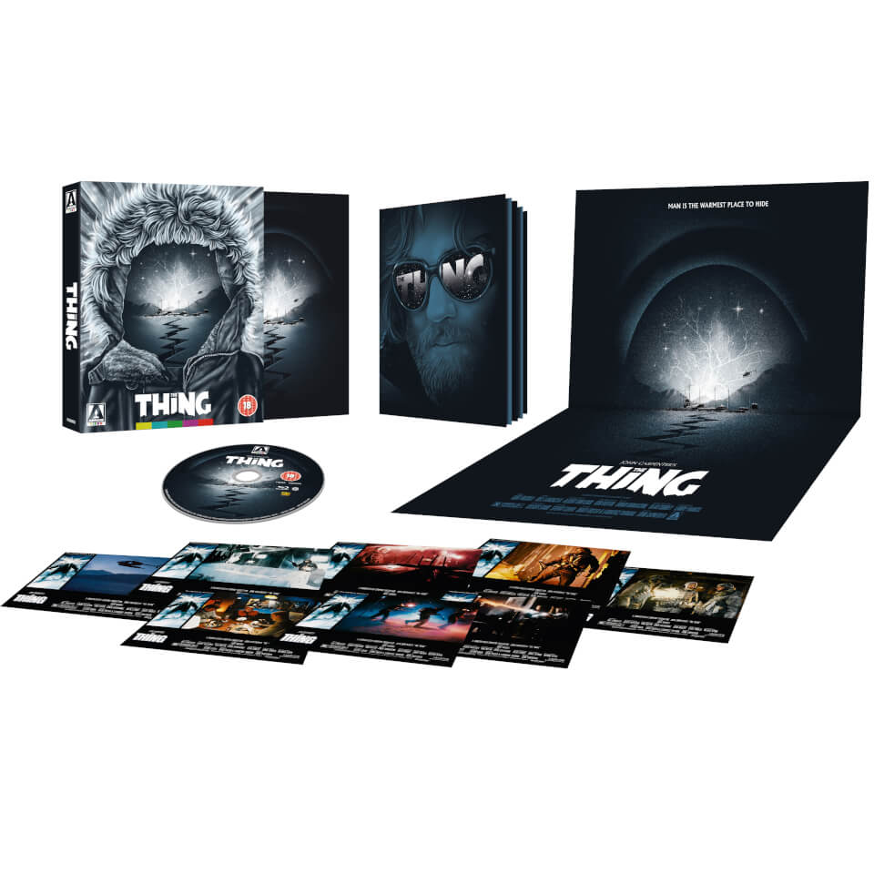 The Thing Limited Edition Blu Ray Zavvi
