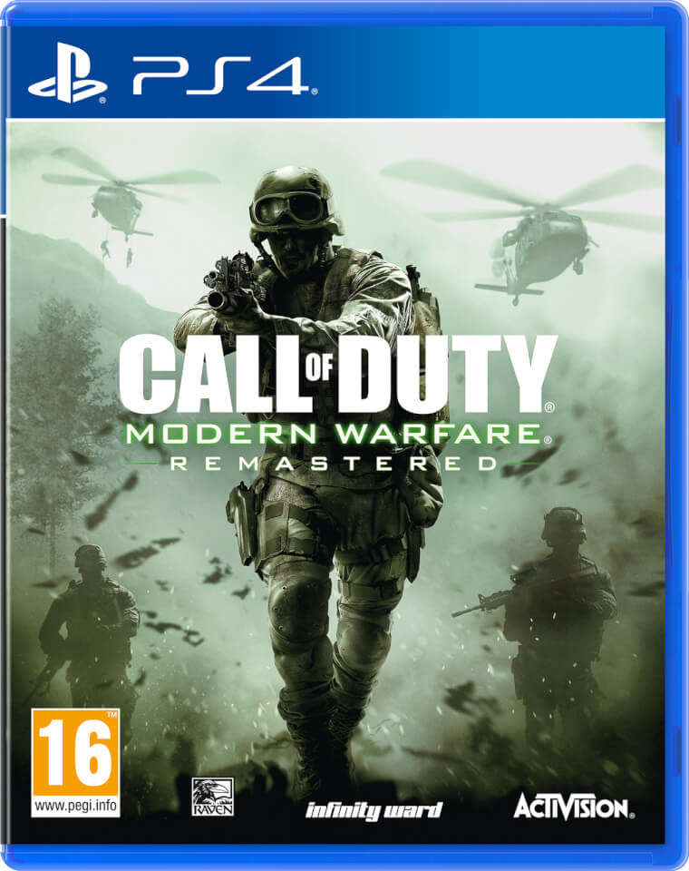 call of duty modern warfare remastered ps4 zavvi. Black Bedroom Furniture Sets. Home Design Ideas
