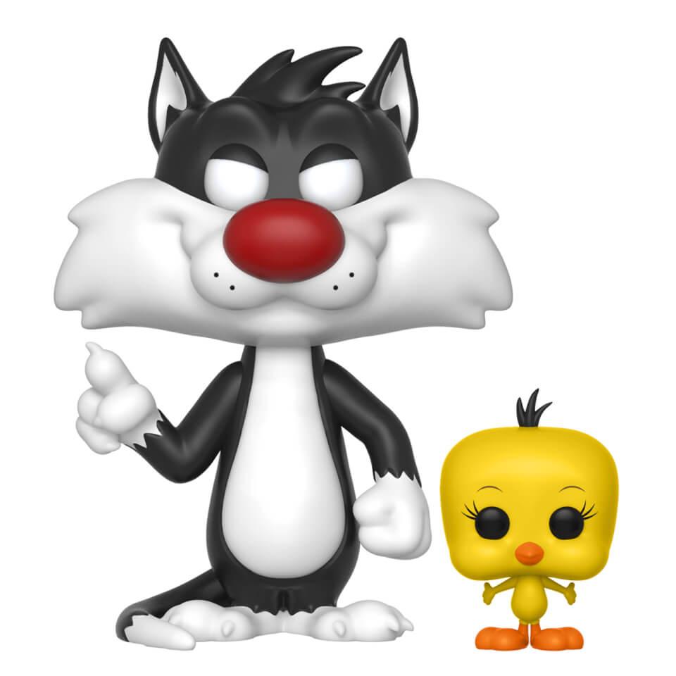 Looney Tunes Sylvester With Tweety Pop Vinyl Figure