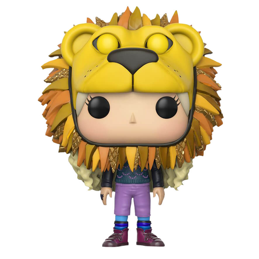 Harry Potter Luna Lovegood Lion Head Pop Vinyl Figure