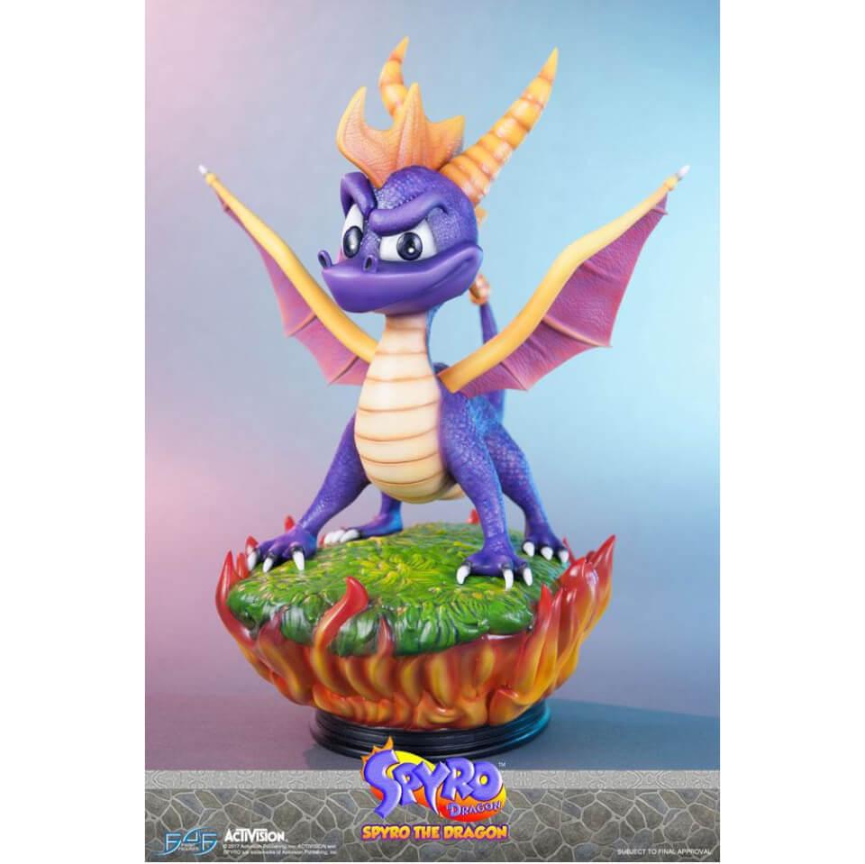 First 4 Figures Spyro The Dragon Statue 38cm Merchandise