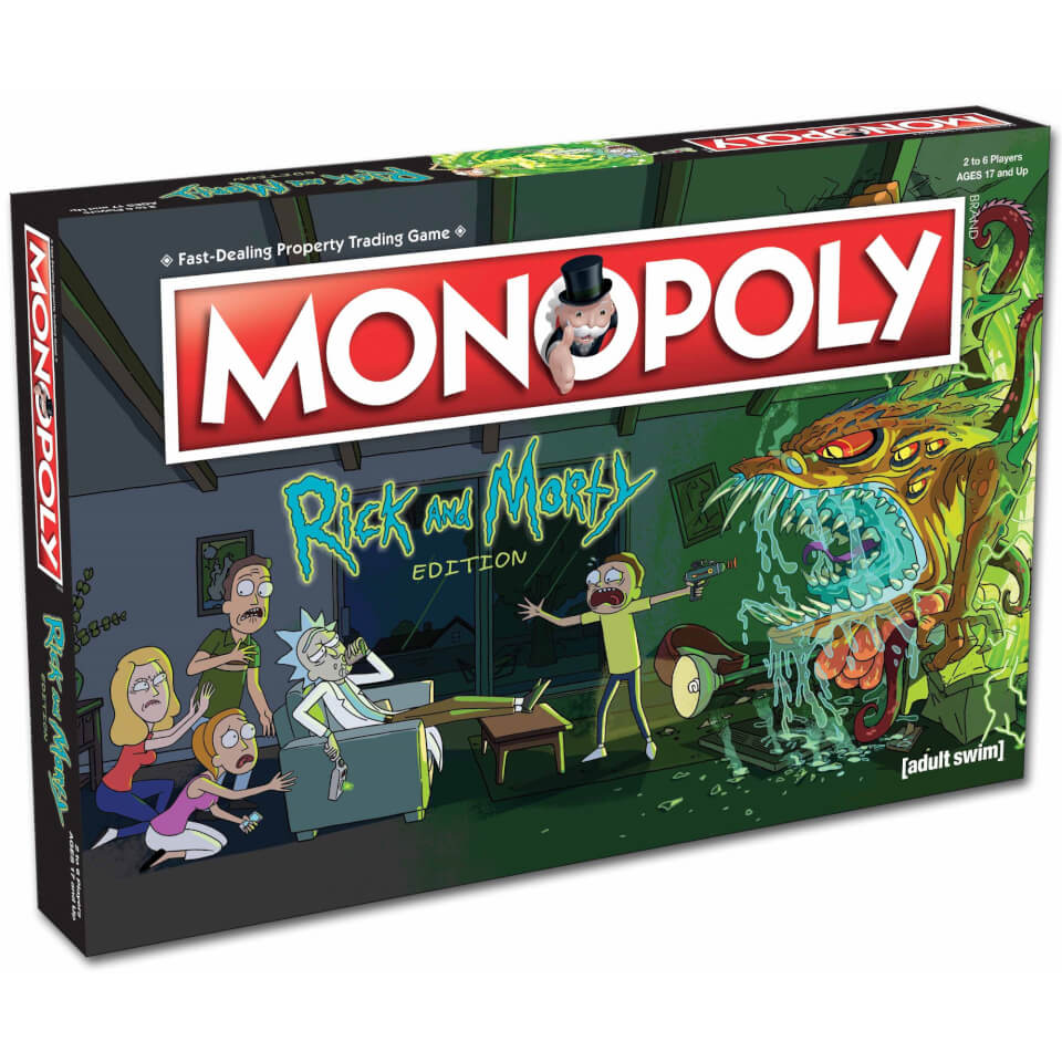 Monopoly Rick And Morty Edition Iwoot