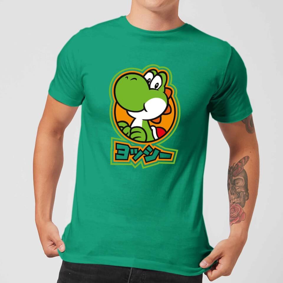 Nintendo Super Mario Yoshi Kanji Men's T-Shirt