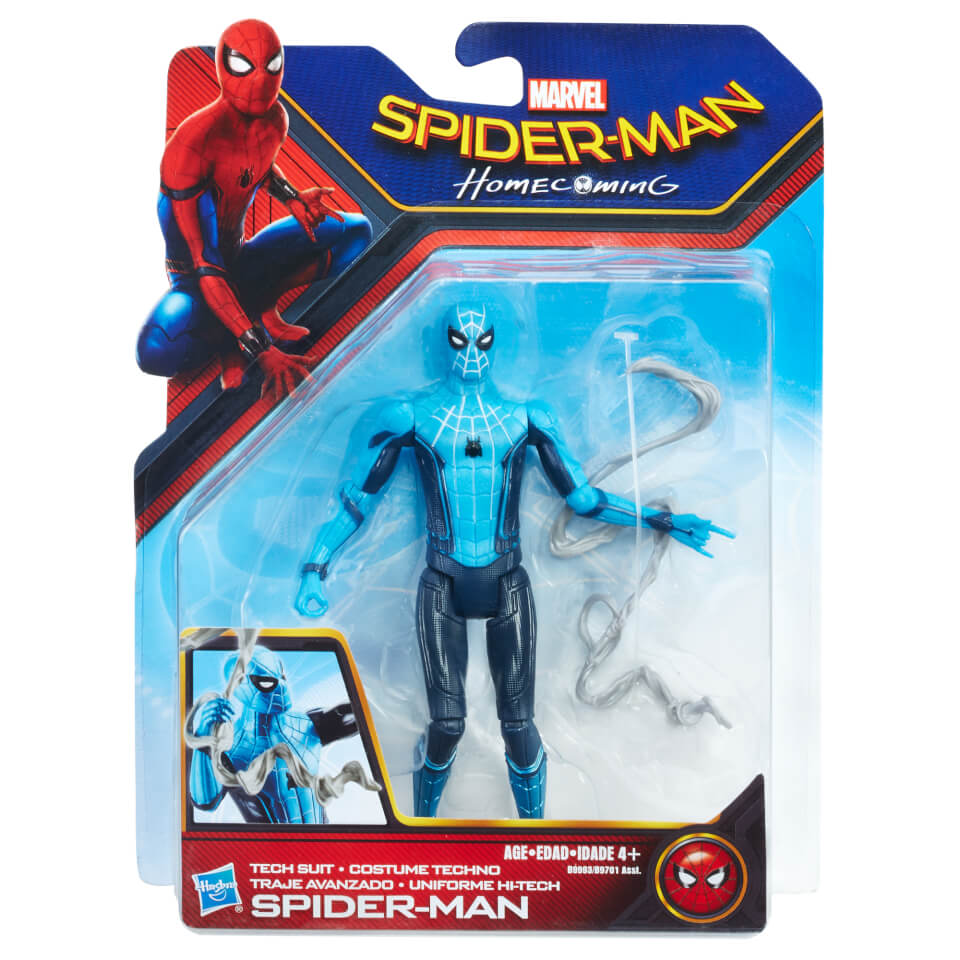 Hasbro Spider-Man Homecoming Action Figure - Tech Suit ...