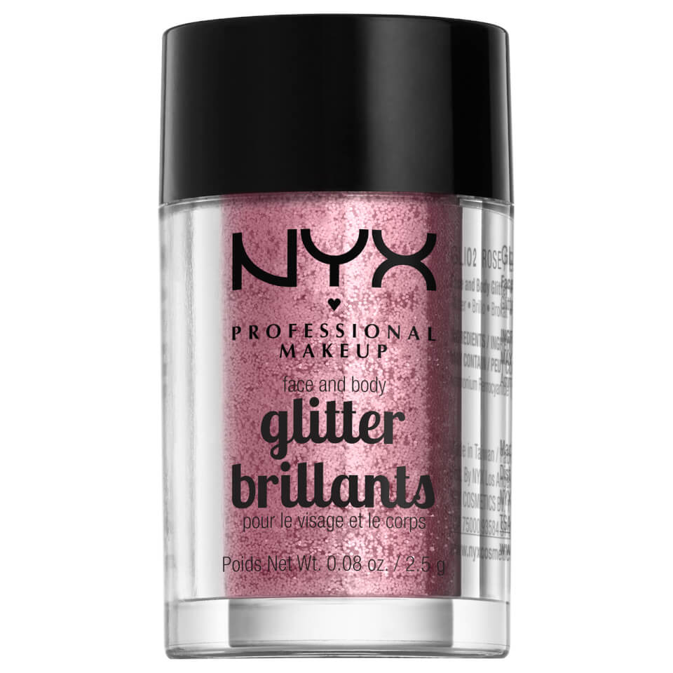 Nyx Professional Makeup Face & Body Glitter (Various Shades) by Look Fantastic