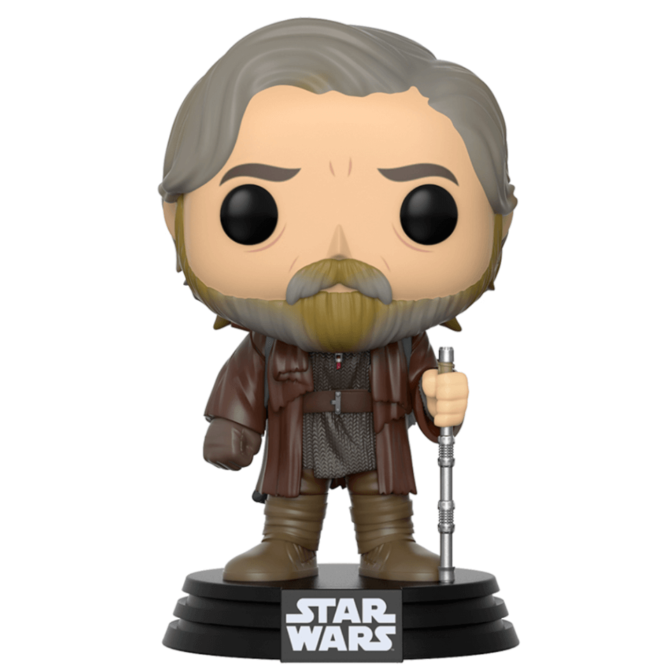 Star Wars The Last Jedi Luke Skywalker Pop Vinyl Figure