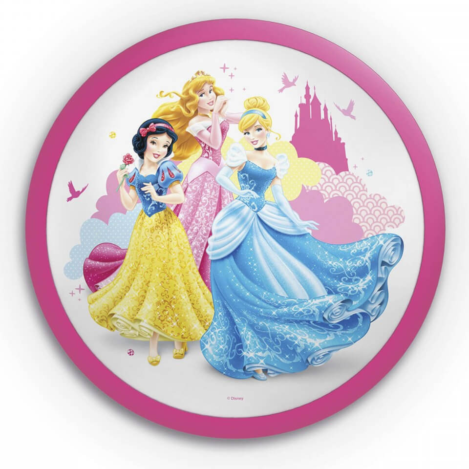 Philips Disney Princess Children's Wall and Ceiling Light ...