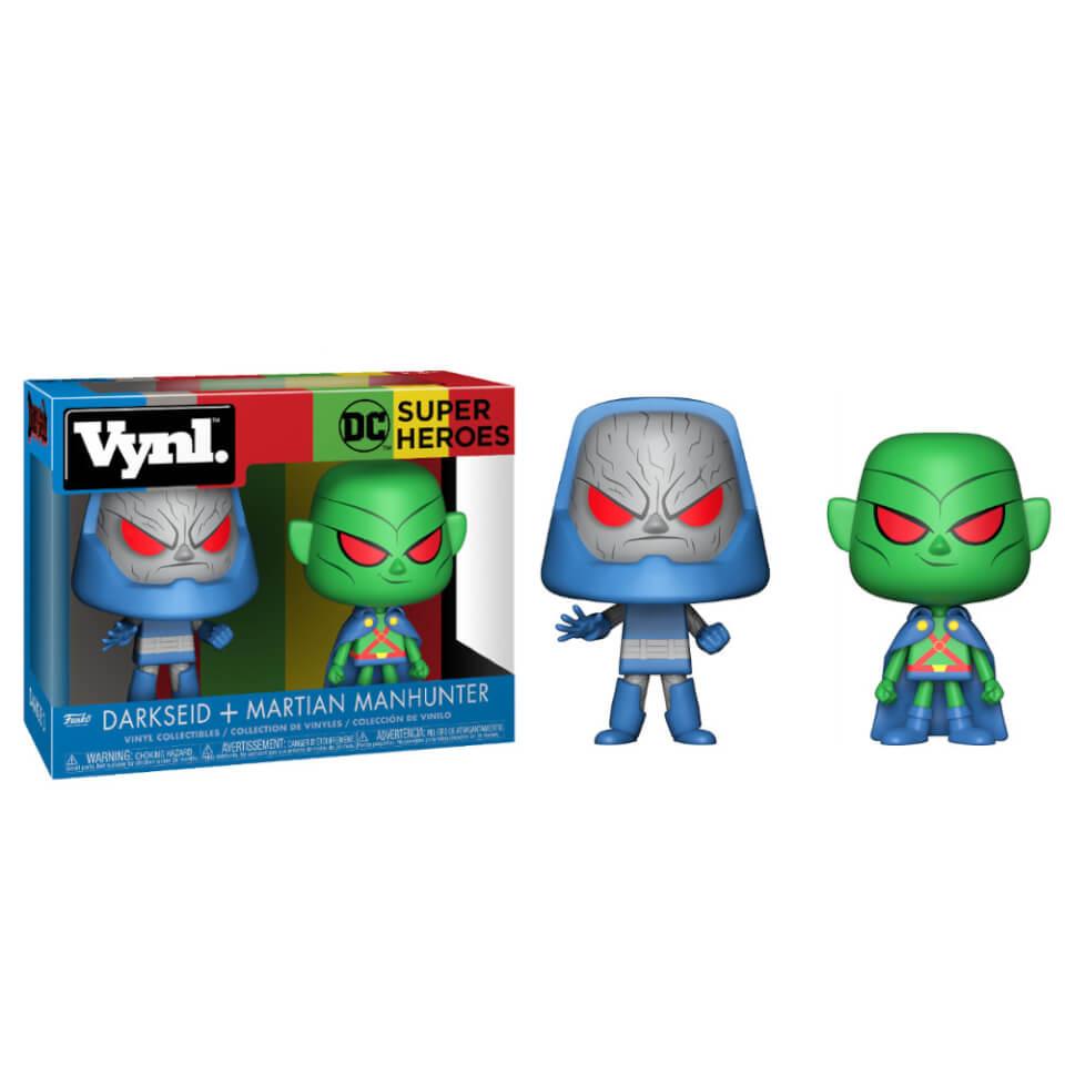 Dc Martian Manhunter And Darkseid Vynl Pop In A Box Uk