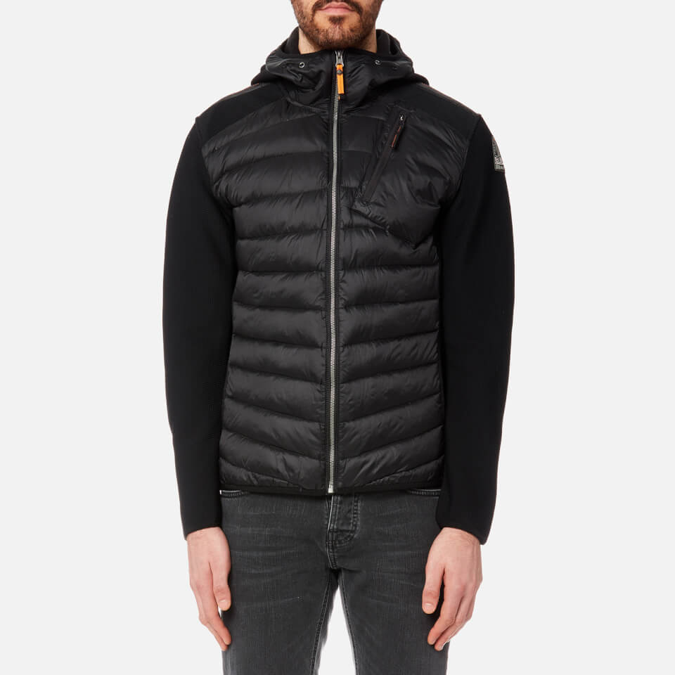 Parajumpers Men's Nolan Hooded Padded Jacket - Black Clothing | TheHut.com