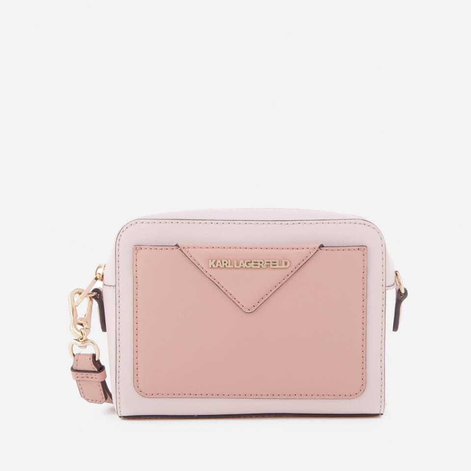 4bc24496fac4 Karl Lagerfeld Women s K Klassik Camera Bag - Pale Rose - Free UK Delivery  over £50