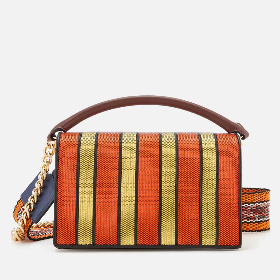 fdea3e36d4fb Diane von Furstenberg Women s Bonne Soirée Bag - Orange Yellow Black - Free  UK Delivery over £50