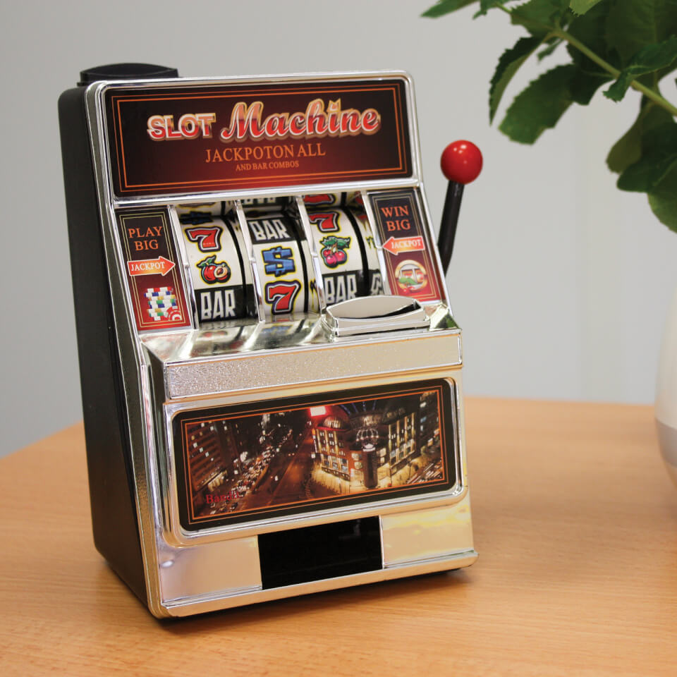 Small Slot Machine Unique Gifts Zavvi