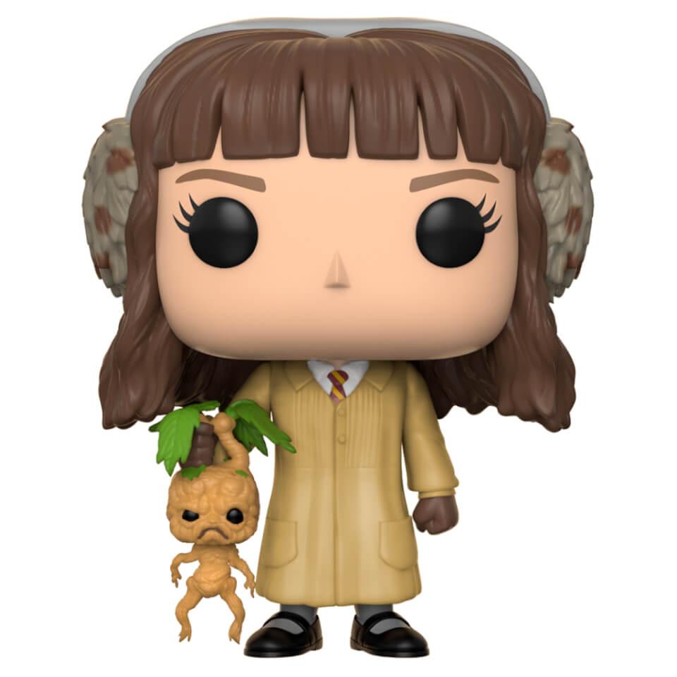harry potter hermione granger herbology pop vinyl figure merchandise zavvi