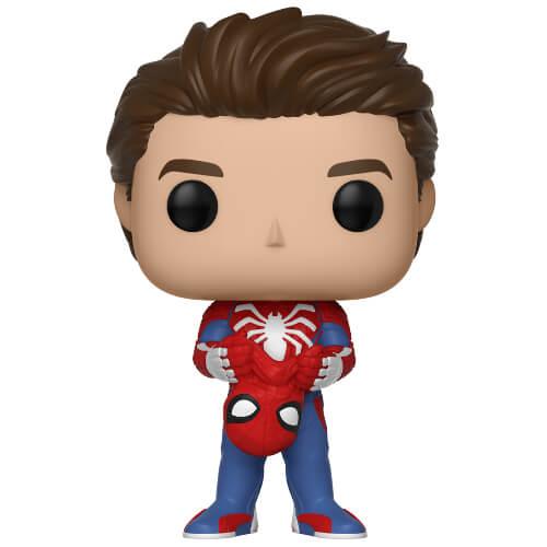 Figurine Pop Spider Man Sans Masque Spider Man