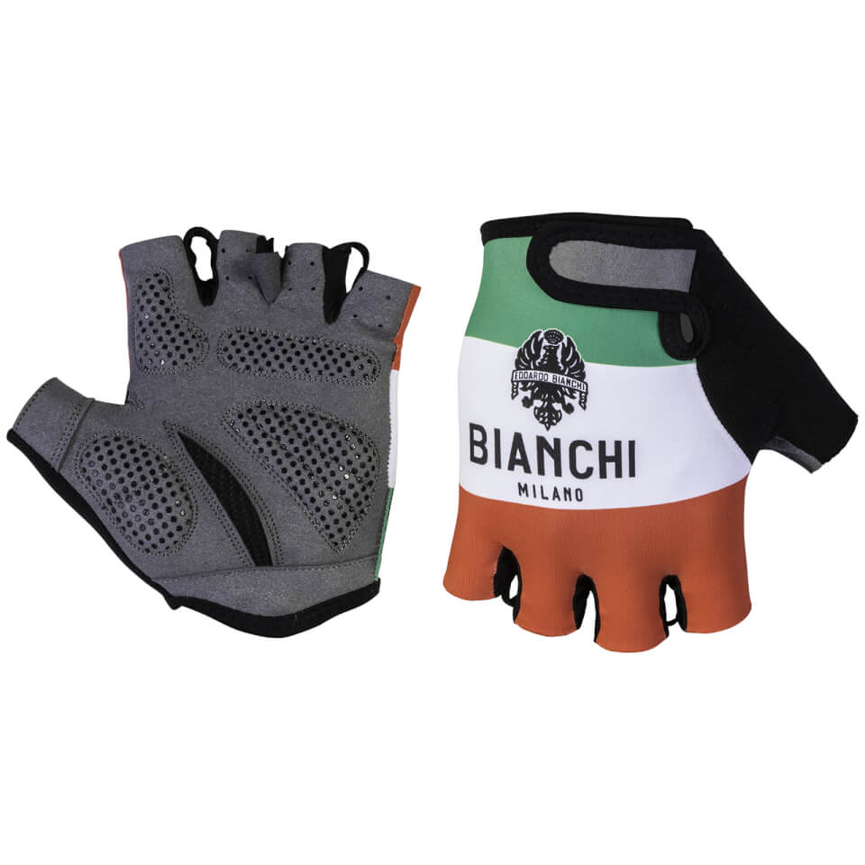 Bianchi Alvia Mitts - Red/White/Green | Handsker