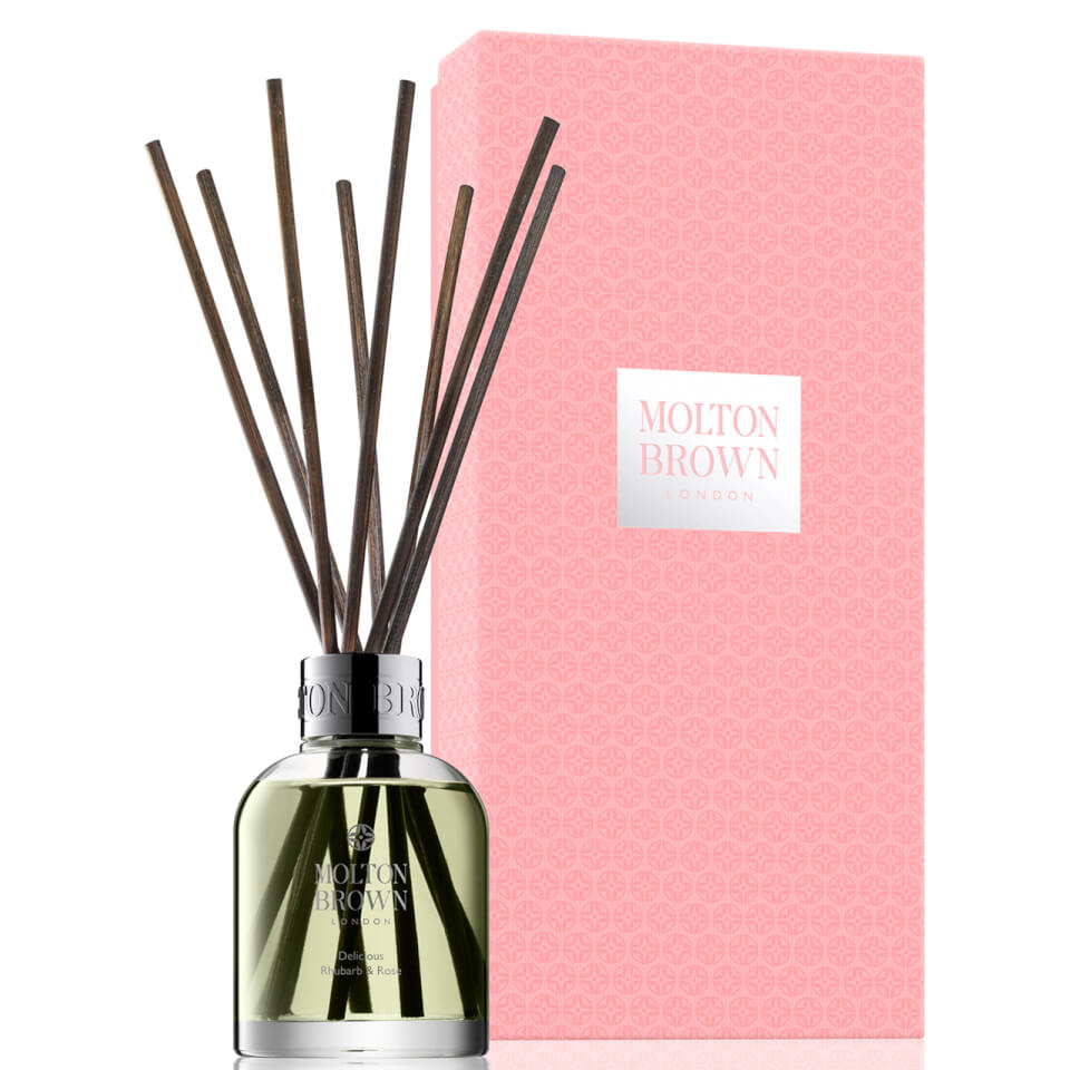 Molton Brown Delicious Rhubarb /& Rose Aroma Reeds