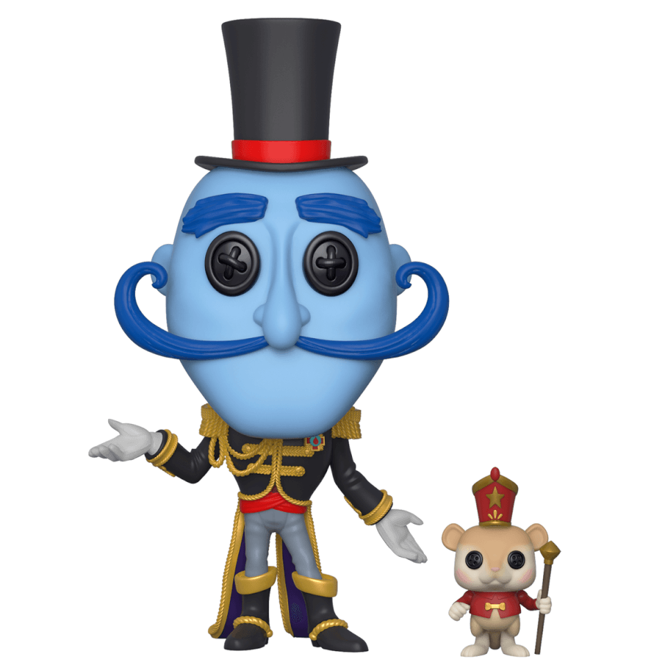 Coraline Mr Bobinsky With Mouse Pop Vinyl Figure Pop In