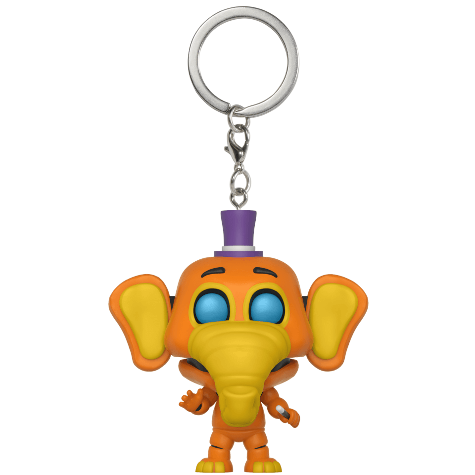 FIVE NIGHTS AT FREDDY/'S PIZZERIA SIMULATOR ORVILLE ELEPHANT FIGURE PIZZA HOT