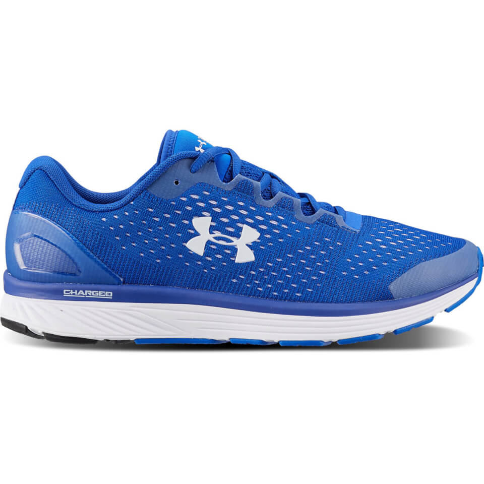 Under Armour Men's Charged Bandit 4 Team Running Shoes - Blue | Running shoes