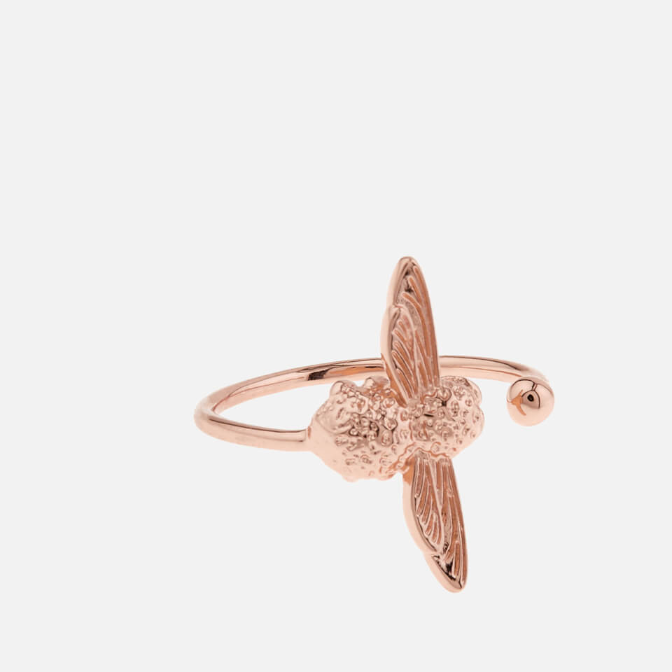 048630025f9 Olivia Burton Women s 3D Bee Ring - Rose Gold