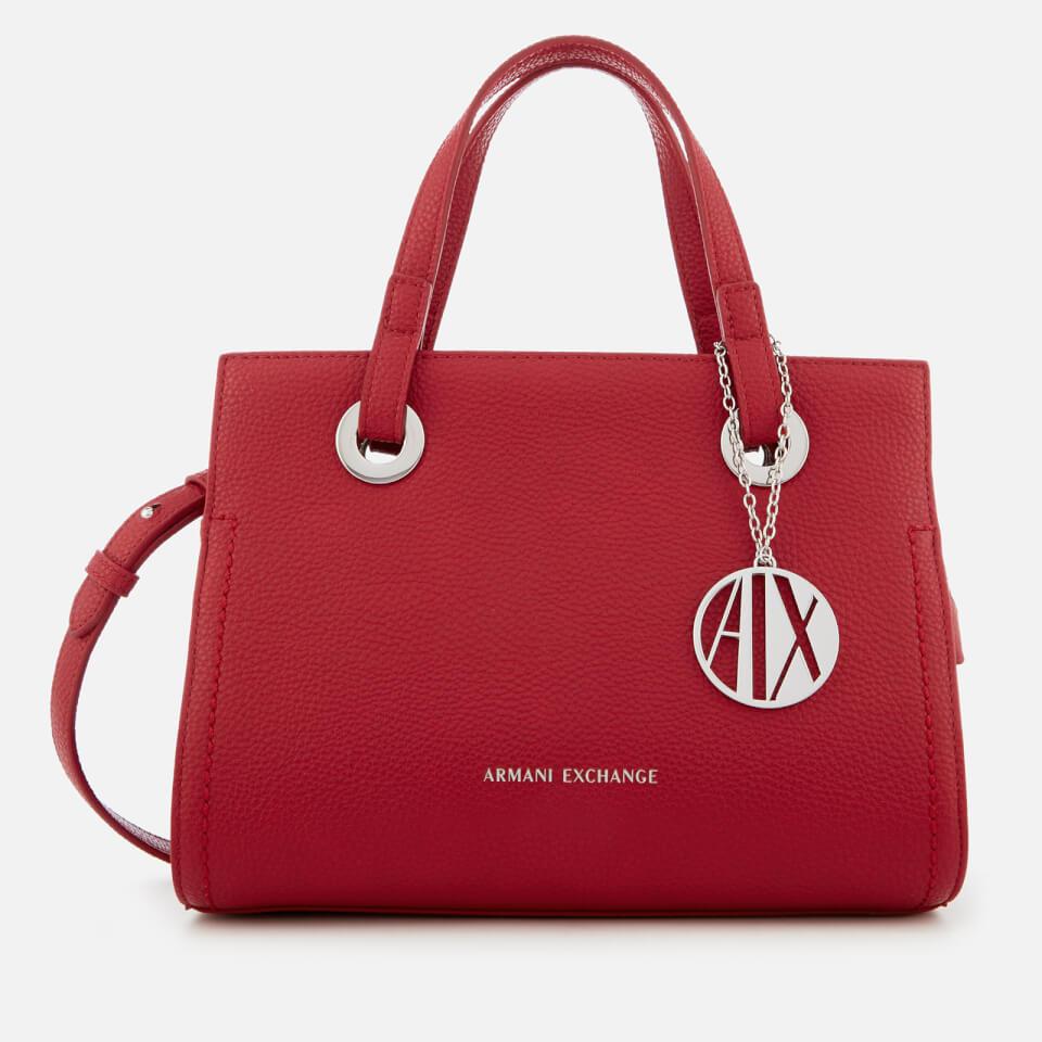 Armani Exchange Women s Small Shopper With Cross Body Bag ... c3a1b96660dde