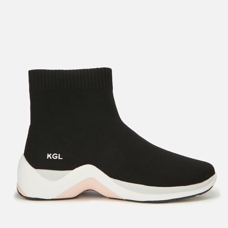 Kurt Geiger London Women S Linford Sock Trainers Black