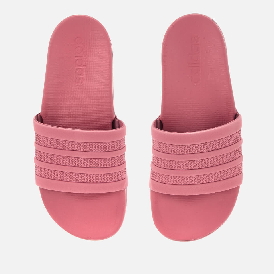 7412f3ddce3f4 adidas Woman s Adilette Comfort Sandals - Trace Maroon Sports   Leisure