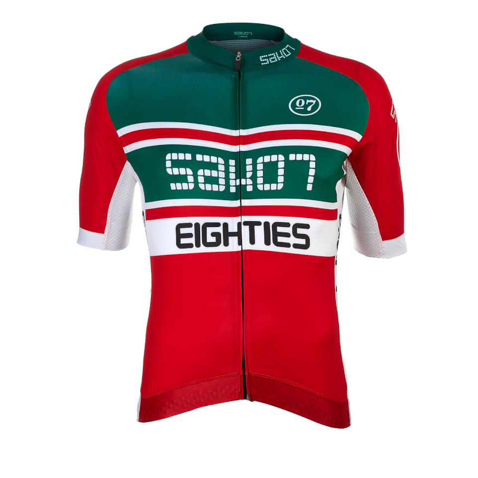 Sako7 The Eighties Jersey - Red | Jerseys